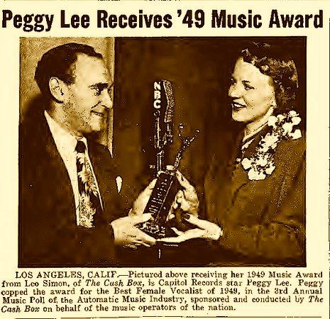 Peggy lee song lyrics